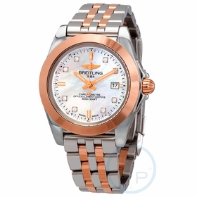 Breitling C7133012/A803-792C Galactic Ladies Quartz Watch