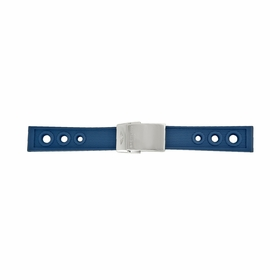 Breitling Blue Ocean Racer Rubber Strap with a Stainless Steel Deplyoment Buckle 20-18mm
