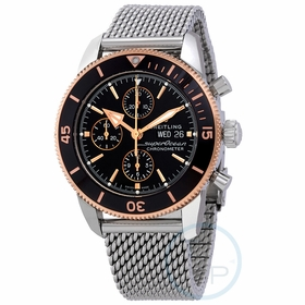 Breitling U13313121B1A1 Superocean Heritage II Mens Chronograph Automatic Watch