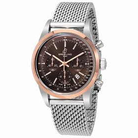 Breitling UB015212-Q594-154A Transocean Mens Chronograph Automatic Watch