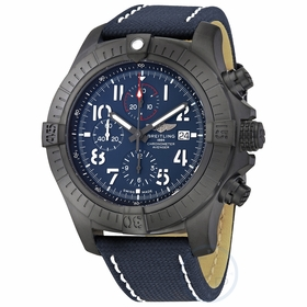 Breitling V13375101C1X1 Super Avenger Chronograph 48 Night Mission Mens Chronograph Automatic Watch