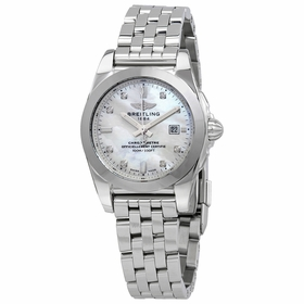 Breitling W72348121A2A1 Galactic 29 Sleek Ladies Thermocompensated SuperQuartz Watch