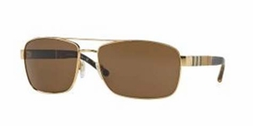 Burberry 0BE3081-101773-63 HERITAGE CANVAS CHECK Mens  Sunglasses