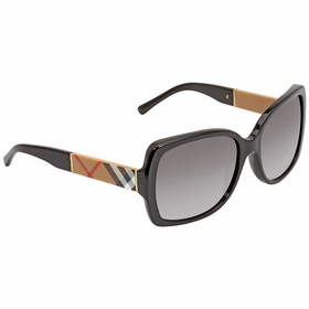 Burberry BE4160-34338G-58 Blaze & Orchid Ladies  Sunglasses