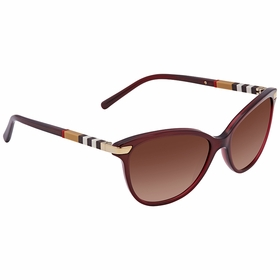 Burberry BE4216-301413-57 Regent Collection Ladies  Sunglasses