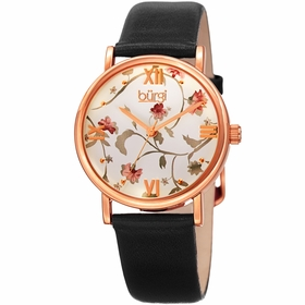 Burgi BUR186BK  Ladies Quartz Watch