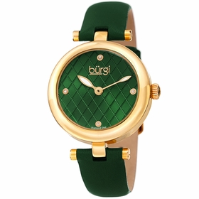 Burgi BUR196GN  Ladies Quartz Watch