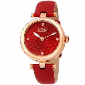 Burgi BUR196RD  Ladies Quartz Watch
