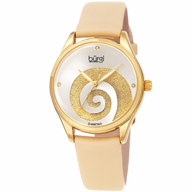 Burgi BUR201YG  Ladies Quartz Watch