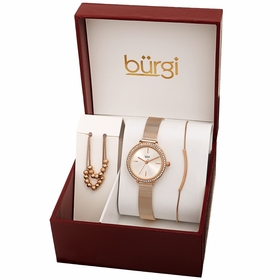 Burgi BUR216RG-S  Ladies Quartz Watch