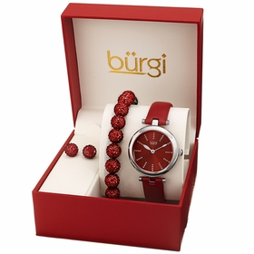 Burgi BUR241SSRD-S  Ladies Quartz Watch