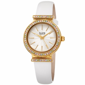 Burgi BUR243WT  Ladies Quartz Watch