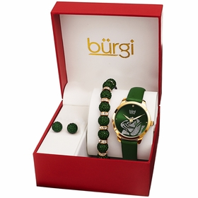Burgi BUR244GN-S  Ladies Quartz Watch