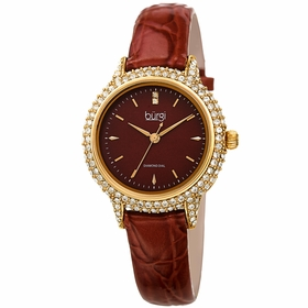 Burgi BUR249BR  Ladies Quartz Watch
