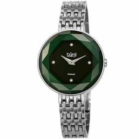 Burgi BUR253GN  Ladies Quartz Watch
