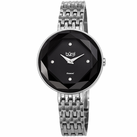 Burgi BUR253SSBK  Ladies Quartz Watch