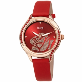 Burgi BUR257RD  Ladies Quartz Watch