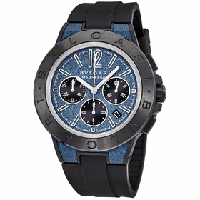Bvlgari 102304 Diagono Mens Chronograph Automatic Watch