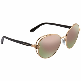 Bvlgari BV6087B 20144Z 57 Serpenti Ladies  Sunglasses