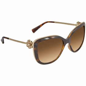 Bvlgari BV6094B 278T5 57 Divas Ladies  Sunglasses