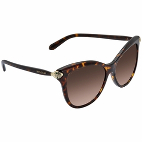 Bvlgari BV8188B 50413 57 BV8188B Ladies  Sunglasses