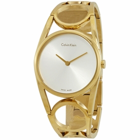Calvin Klein K5U2M546 Round Ladies Quartz Watch