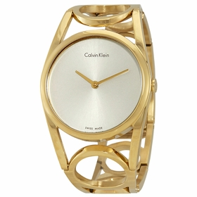 Calvin Klein K5U2S546 Round Ladies Quartz Watch