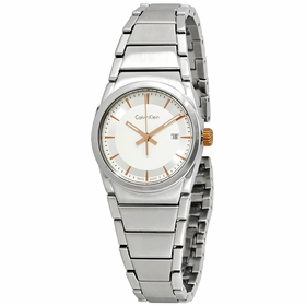 Calvin Klein K6K33B46 Step Ladies Quartz Watch