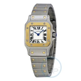 Cartier W20012C4 Santos Ladies Quartz Watch