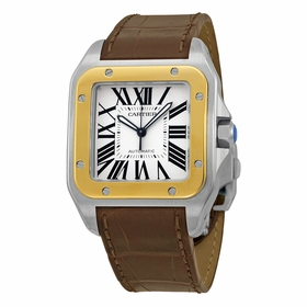 Cartier W20072X7 Santos 100 Mens Automatic Watch