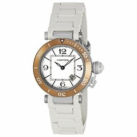 Cartier W3140001 Pasha Seatimer Ladies Quartz Watch