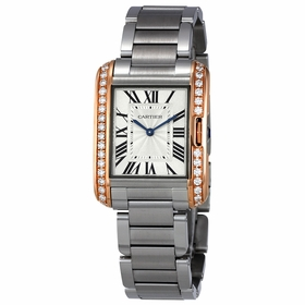 Cartier W3TA0003 Tank Anglaise  Quartz Watch