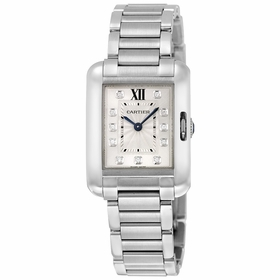 Cartier W4TA0003 Tank Anglaise Ladies Quartz Watch