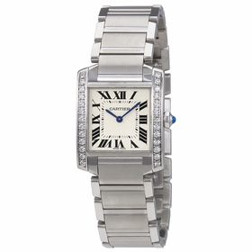 Cartier W4TA0009 Tank Francaise Ladies Quartz Watch