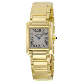 Cartier W50002N2 Tank Francaise Ladies Quartz Watch