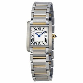 Cartier W51007Q4 Tank Ladies Quartz Watch