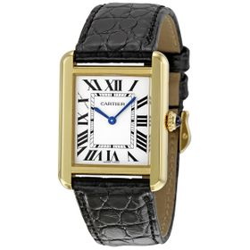 Cartier W5200002 Tank Ladies Quartz Watch