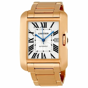 Cartier W5310002 Tank Anglaise Mens Automatic Watch