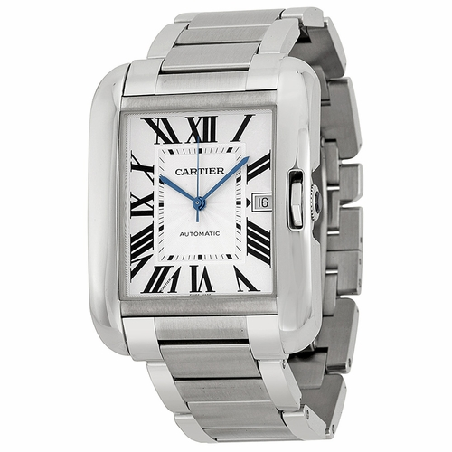 Cartier W5310008 Tank Anglaise Mens Automatic Watch