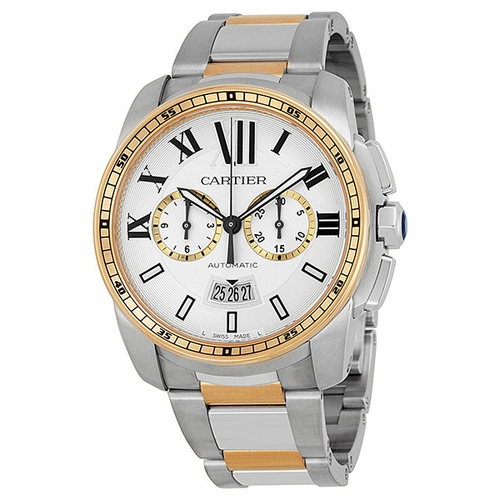 Cartier W7100042 Calibre de Cartier Mens Chronograph Automatic Watch
