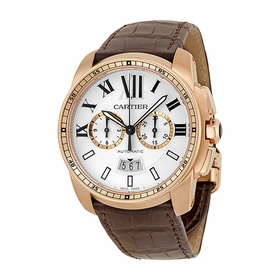 Cartier W7100044 Calibre de Cartier Mens Chronograph Automatic Watch