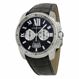 Cartier W7100060 Calibre de Cartier Chronograph Mens Chronograph Automatic Watch