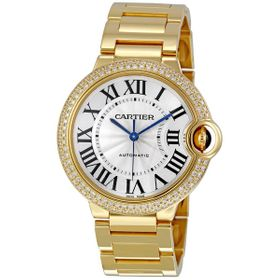 Cartier WE9004Z3 Ballon Bleu Medium Ladies Automatic Watch
