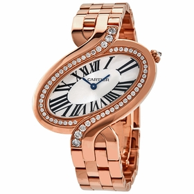 Cartier WG800006 Delices De Cartier Ladies Quartz Watch