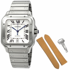 Cartier WSSA0009 Santos De Cartier Mens Automatic Watch