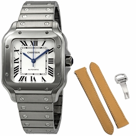 Cartier WSSA0010 Santos De Cartier Mens Automatic Watch