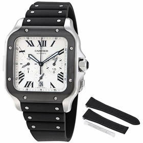 Cartier WSSA0017 Santos XL Mens Chronograph Automatic Watch