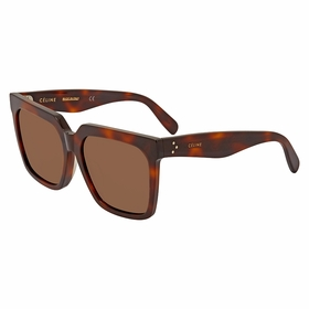 Celine CL40055F 53E 55  Ladies  Sunglasses