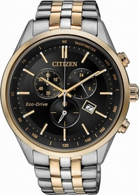Citizen AT2144-54E  Mens Chronograph Eco-Drive Watch