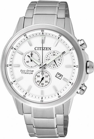 Citizen AT2340-81A  Mens Chronograph Eco-Drive Watch